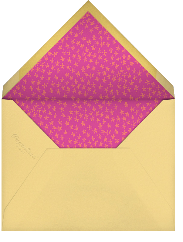 Lime in My Coconut - Paperless Post - Luau party - envelope back