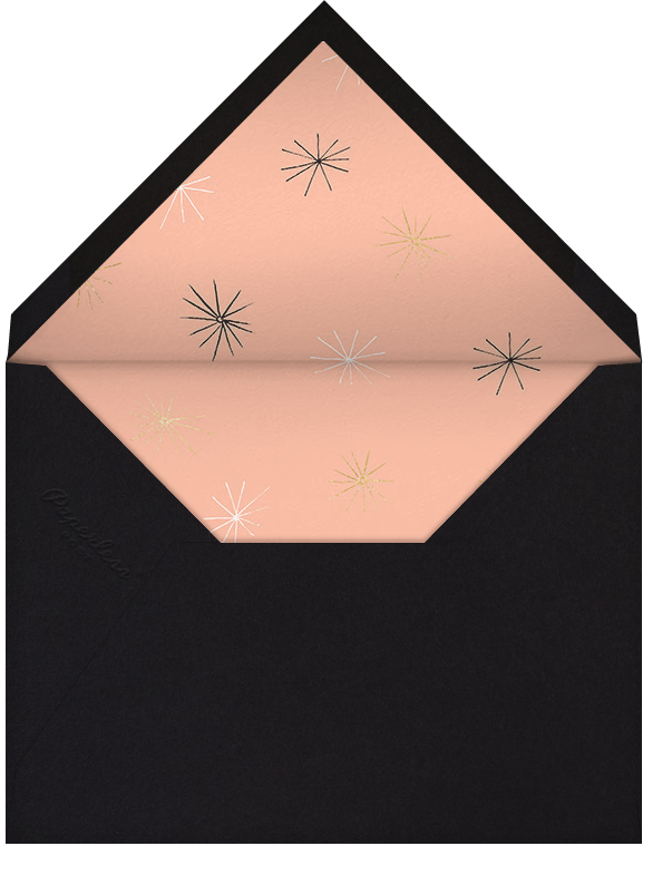 Sparkling and Swinging - Sherbet - Paperless Post - Adult birthday - envelope back