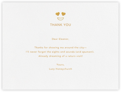 Romantic Looks - Paperless Post - General thank you notes