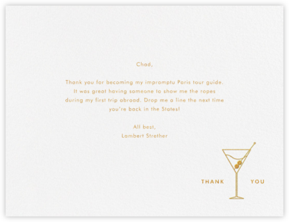 Campbell - Paperless Post - General thank you notes