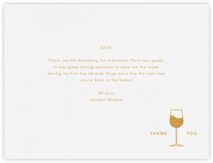 Soave - Paperless Post - Online thank you notes