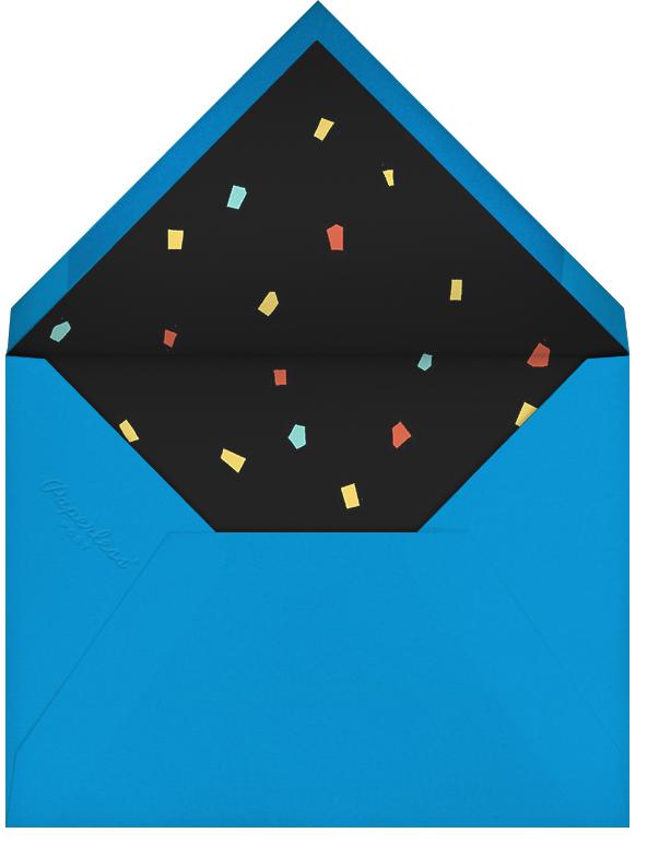 Neon Placard - Paperless Post - Milestone  - envelope back