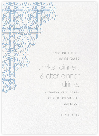 Medina - Spring Rain - Paperless Post - Online Party Invitations