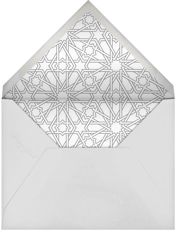 Medina - Spring Rain - Paperless Post - Adult birthday - envelope back