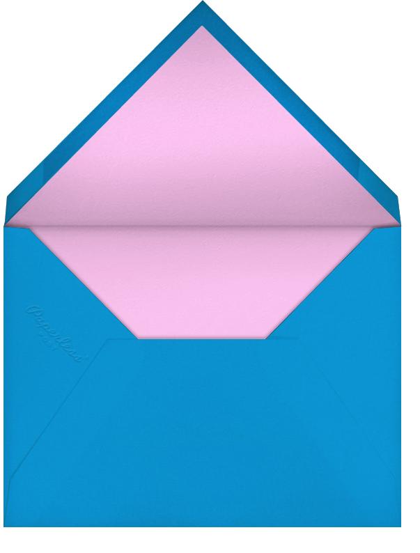 Cowboys and Princesses - Mary Katrantzou - Adult birthday - envelope back