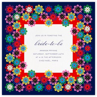 Flower Rainbow - Mary Katrantzou - Bridal shower invitations