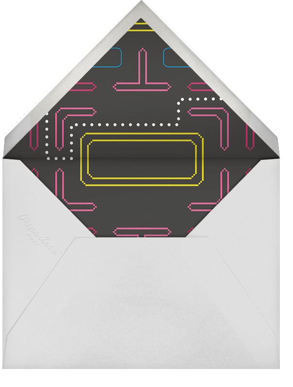 All Time Hi-Score - Paperless Post - Adult birthday - envelope back