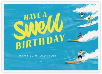 Have a Swell Birthday - Paperless Post -