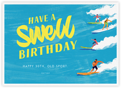 Have a Swell Birthday - Paperless Post - Birthday Cards