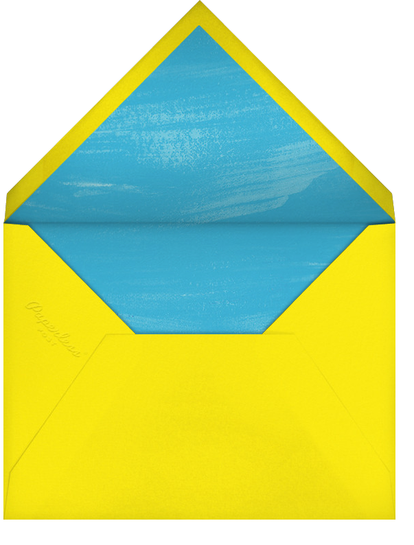 Make Some Waves - Paperless Post - Beach party - envelope back