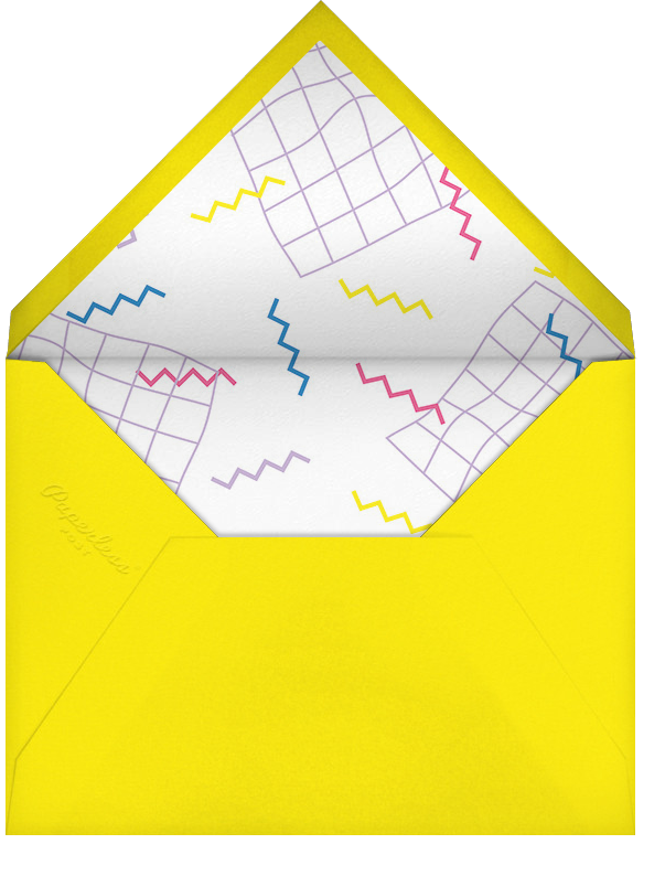 Totally Rad - Paperless Post - Adult birthday - envelope back