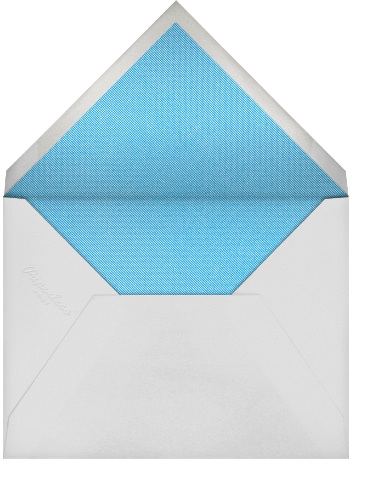 Kingpin - Paperless Post - Adult birthday - envelope back
