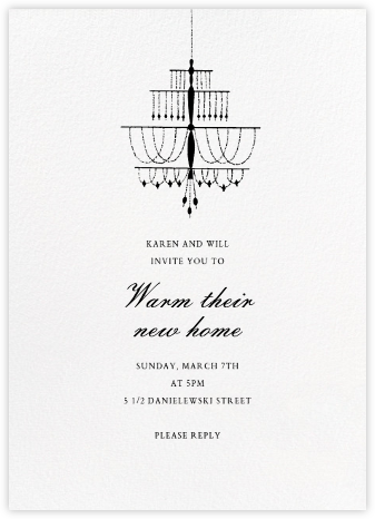 Murano - Paperless Post - Housewarming party invitations