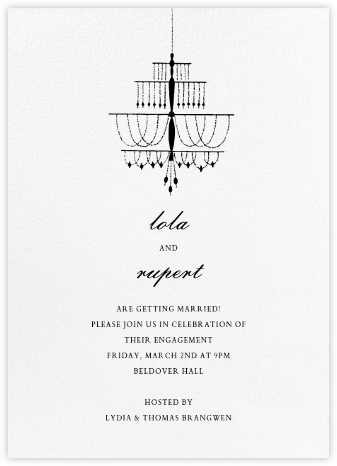 Murano - Paperless Post - Engagement party invitations