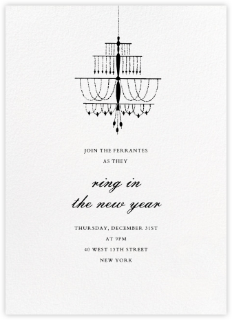 Murano - Paperless Post - New Year's Eve Invitations