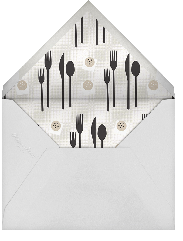 Places, Please - Paperless Post - Dinner party - envelope back