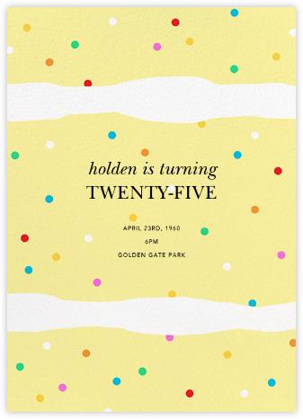 Layered Cake - Paperless Post - Adult birthday invitations