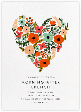 Heart of Plenty - Rifle Paper Co. - Wedding Weekend Invitations