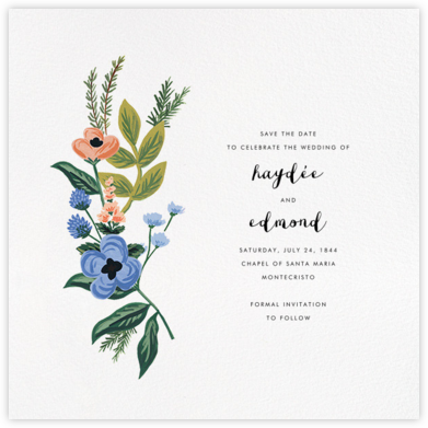 August Herbarium (Save the Date) - Rifle Paper Co. - Rifle Paper Co. Wedding