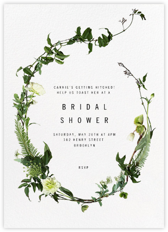 bridal shower invitations online at paperless post