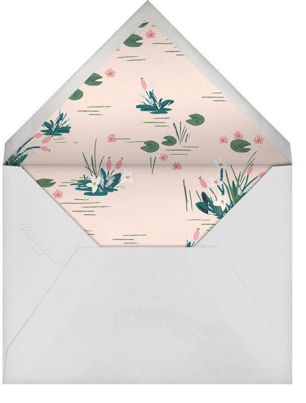 Swan Pond - Meringue - Rifle Paper Co. - Envelope