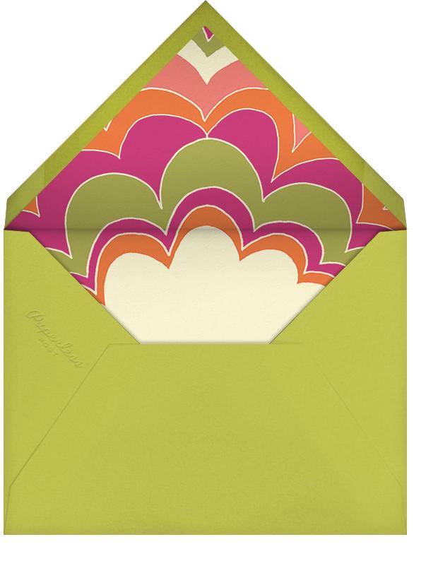 Good Vibes - Paperless Post - Adult birthday - envelope back