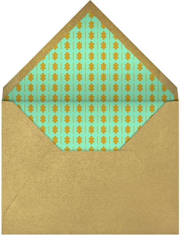 Crown - Pink - The Indigo Bunting - Kids' birthday - envelope back