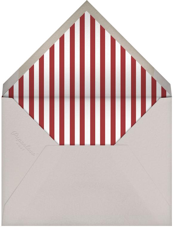 Reindeer Gala (Ivory) - Paperless Post - Christmas - envelope back