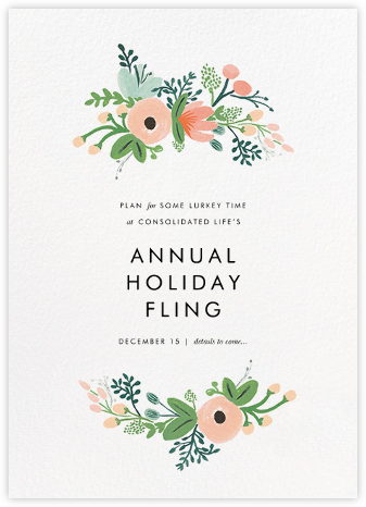Wrapped in Wildflowers - Rifle Paper Co. - Save the dates