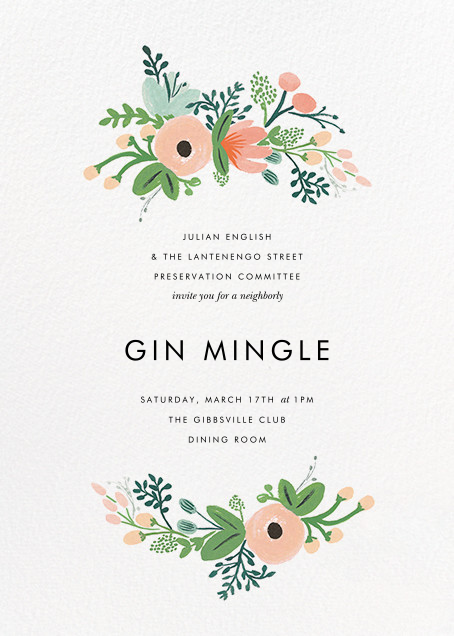 Wrapped in Wildflowers - Rifle Paper Co. - Casual entertaining