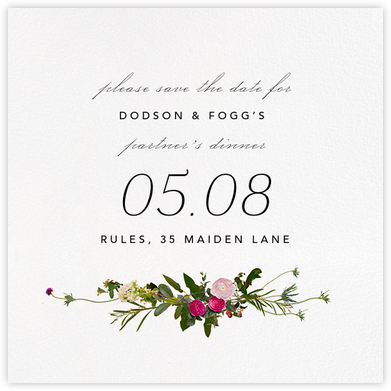 Belvoir (Save the Date) - White - Paperless Post - Save the dates