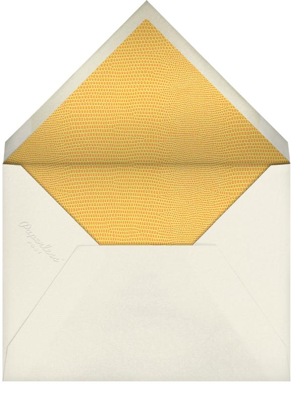 Snakeskin (Gold) - Paperless Post - Envelope