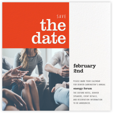 Edition - Paperless Post - Event save the dates