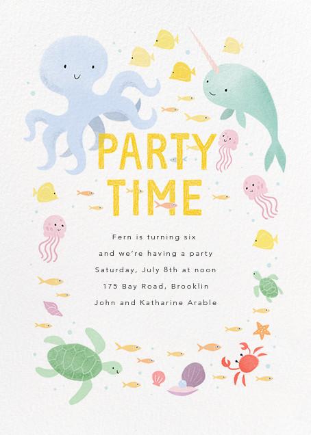 Sea of Love - Paperless Post - Summer entertaining invitations