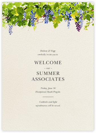 Napa - Felix Doolittle - Happy hour invitations