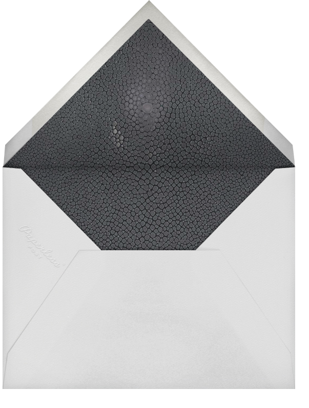 Marbleized (Vertical Invitation) - Kelly Wearstler - Reception - envelope back