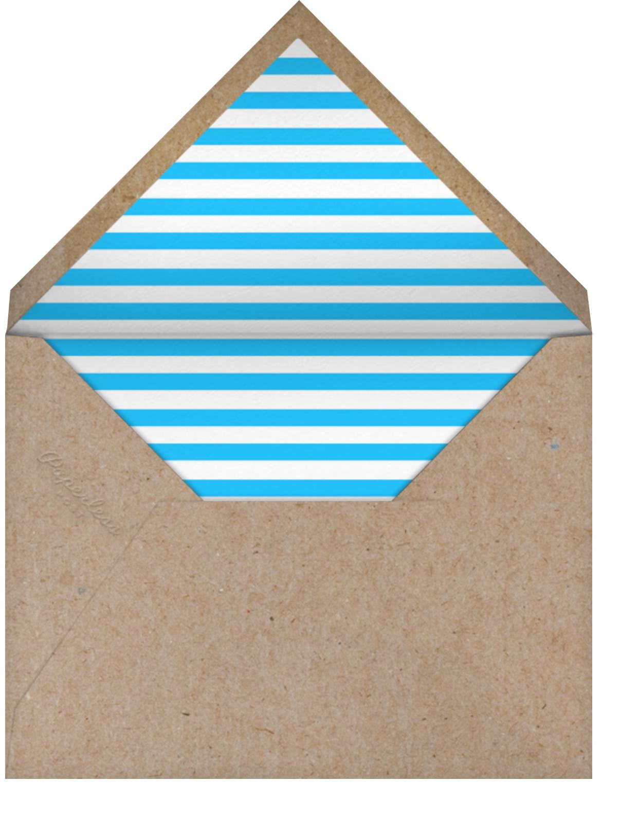 Hopscotch - Ten - The Indigo Bunting - Envelope