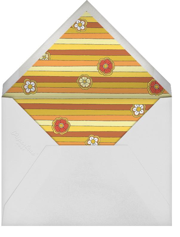 Pushing Daisies - Paperless Post - Adult birthday - envelope back