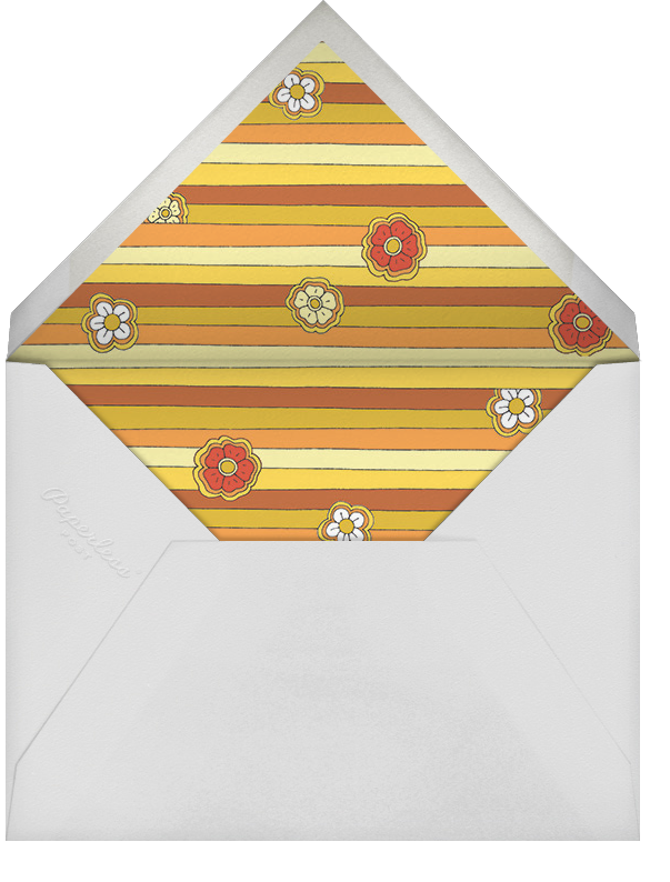 The Rainbow Connection - Paperless Post - Adult birthday - envelope back