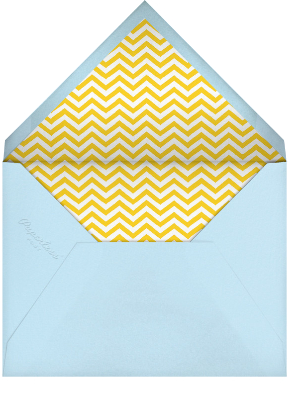 Lemonade - Paperless Post - Casual entertaining - envelope back