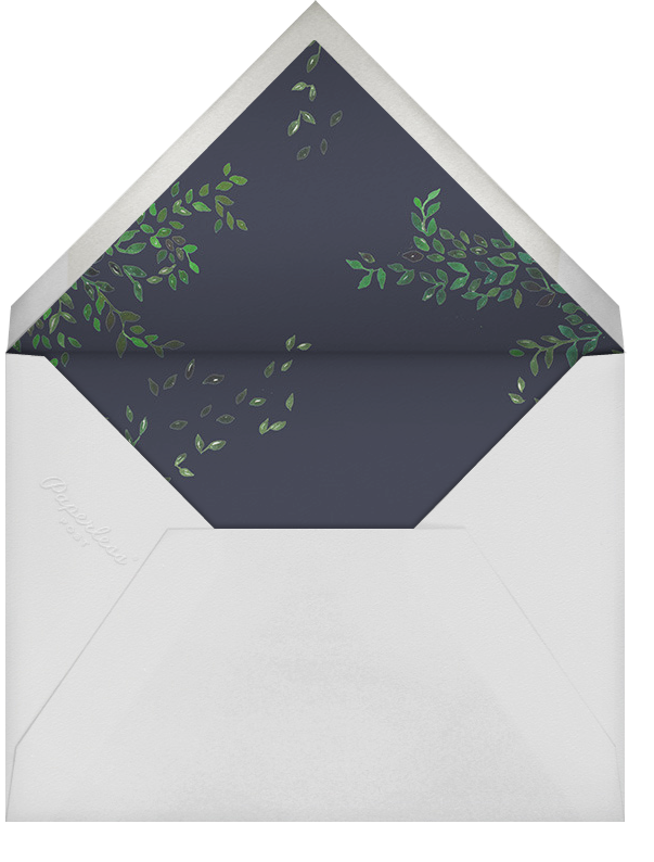 Hedgerow - Happy Menocal - Dinner and luncheon - envelope back