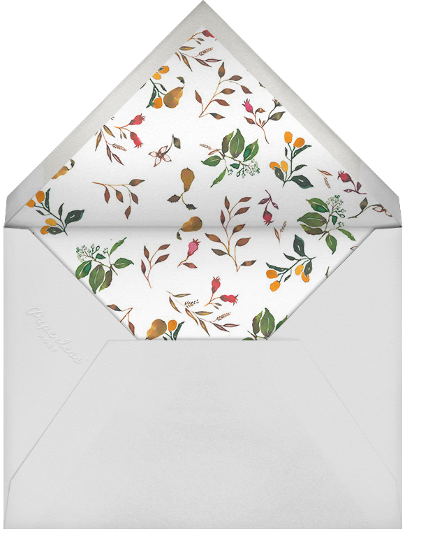 Harvest Market (Tall) - Happy Menocal - Dinner and luncheon - envelope back
