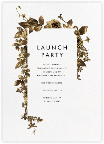 Girardin - Paperless Post - Launch and event invitations