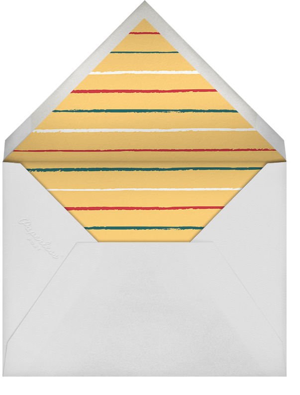 Christmas Clearing - Paperless Post - Corporate invitations - envelope back