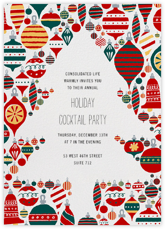 Christmas Clearing - Paperless Post - Business Party Invitations