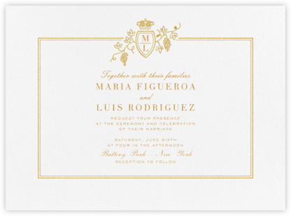 Amador (Invitation) - Paperless Post - Wedding Invitations