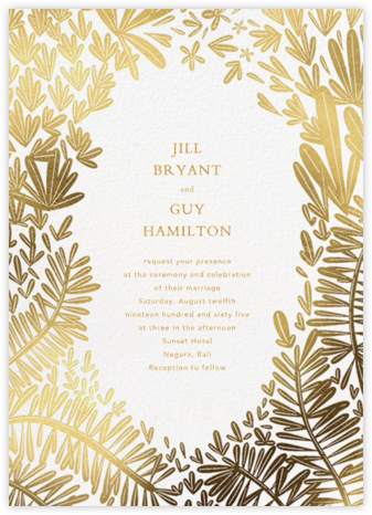 Broceliande (Invitation) - Paperless Post - Wedding invitations