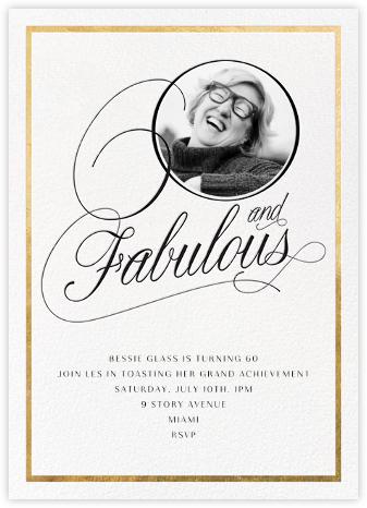 Curls Ahead (Sixty) - Paperless Post - Milestone birthday invitations