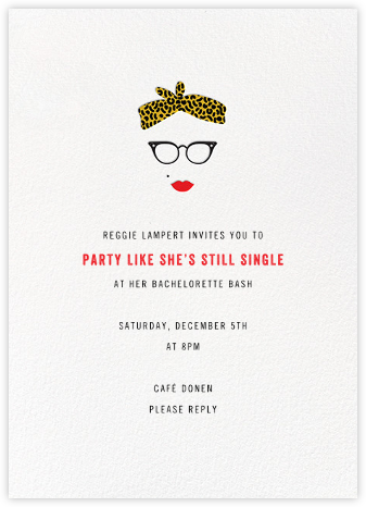 Vargas, Baby - Paperless Post - Bachelorette party invitations