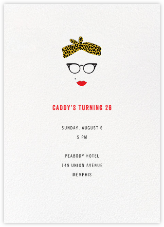 Vargas, Baby - Paperless Post - Adult Birthday Invitations